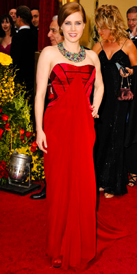 Amy Adams en Carolina Herrera