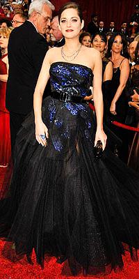 Marion Cotillard en Dior Couture