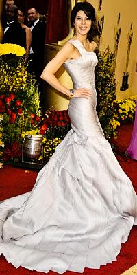 Marisa Tomei en Versace Atelier