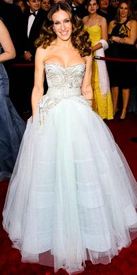 Sarah Jessica Parker en Dior Haute Couture
