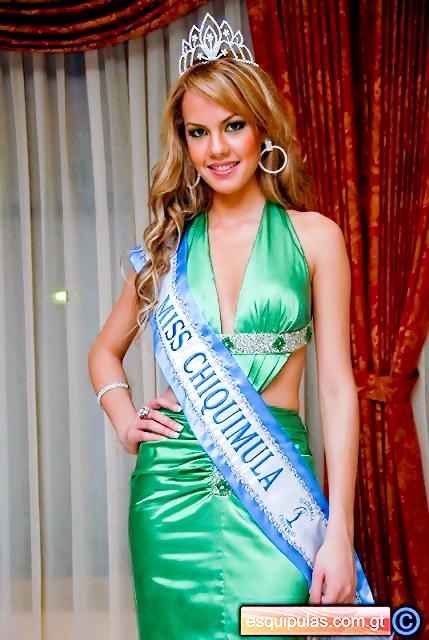 Miss Chiquimula, Ivanna Bonilla