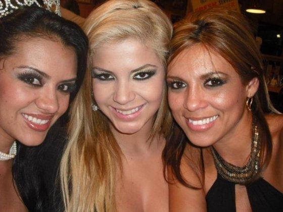 Paula Alonso, Hamy Tejeda y Diana Aldana