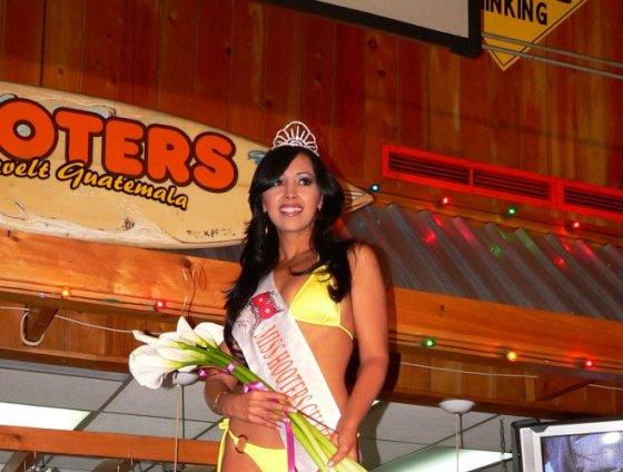 La ganadora de la velada, Sonia Portillo