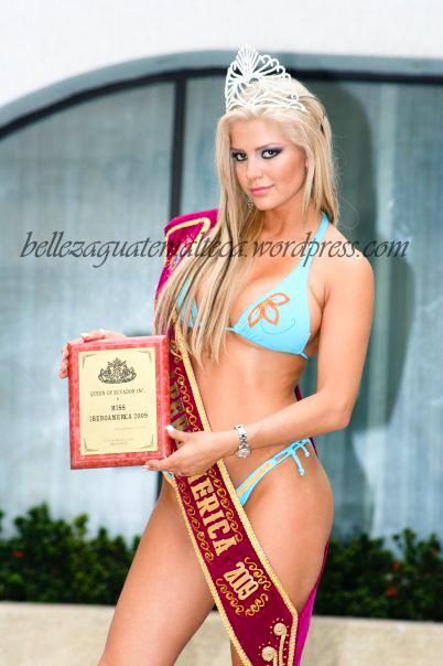 Hamy coronada como Miss Iberoamérica
